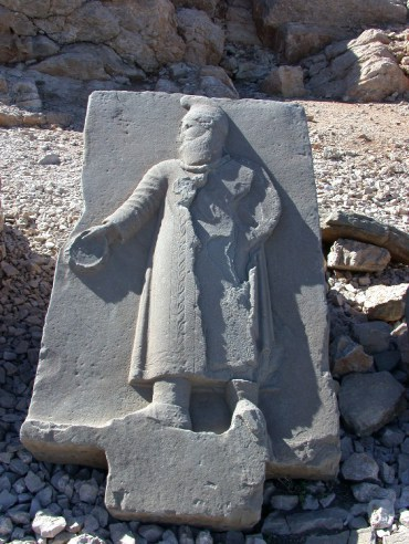 20040522005 - Seated at the Throne of the Gods, High Atop Mt. Nemrut, Turkey