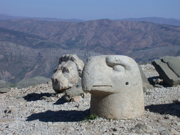 20040522009 - Seated at the Throne of the Gods, High Atop Mt. Nemrut, Turkey