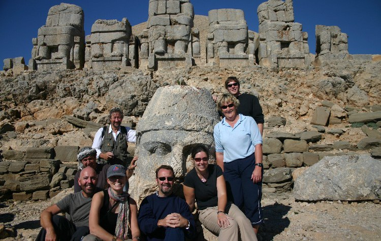 20040523001 - Seated at the Throne of the Gods, High Atop Mt. Nemrut, Turkey