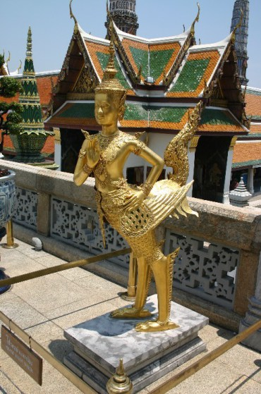 qq7 - On the Steps of the Grand Palace in Bangkok, Thailand