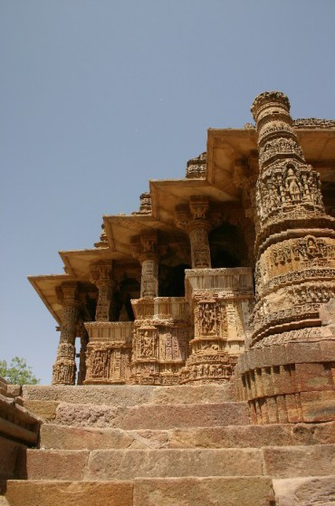 rr3 - At the Modhera Sun Temple in Ahmedabad