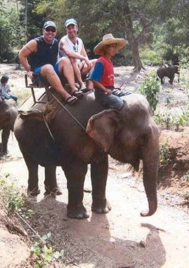 ww10 - A Songkran Day With Elephants and Mahouts