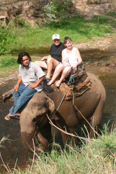 ww13 - A Songkran Day With Elephants and Mahouts