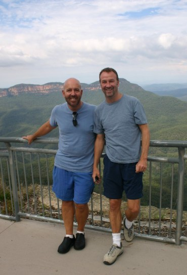 mt3 - Enjoying the Blue Air in the Blue Mountains of Australia