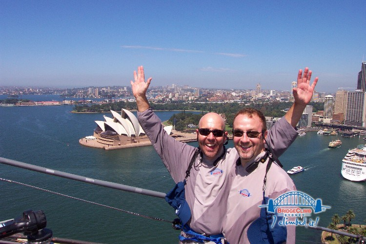sk1 - BridgeClimb:  The Sydney Harbour Bridge