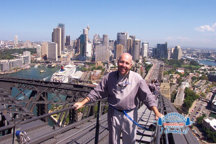 sk3 - BridgeClimb:  The Sydney Harbour Bridge