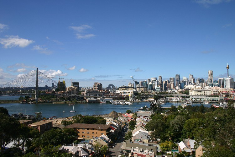 z1 - Walking Balmain and Birchgrove in Sydney, Australia