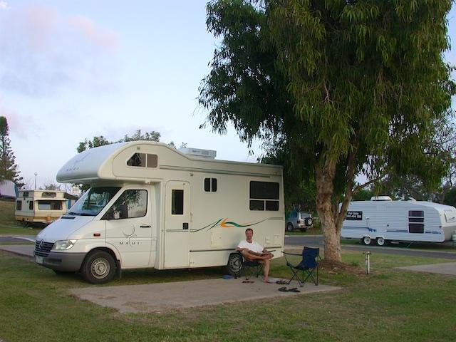 "20040214 Coolum Beach 022 - An Australian Driving Primer: ""Tired Drivers Die!"""