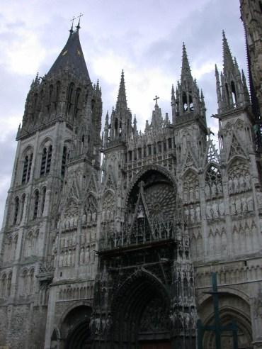 half10 - Half-Timbered Rouen: Jeanne d'Arc 's Garden