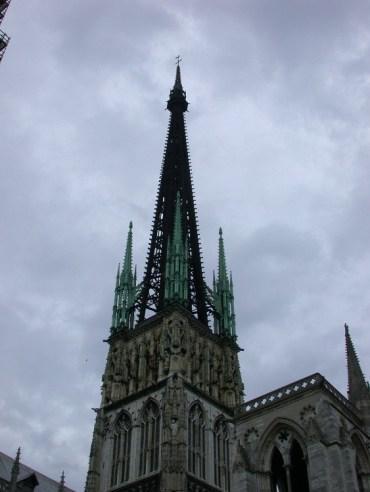 half11 - Half-Timbered Rouen: Jeanne d'Arc 's Garden