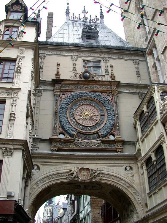 half5 - Half-Timbered Rouen: Jeanne d'Arc 's Garden