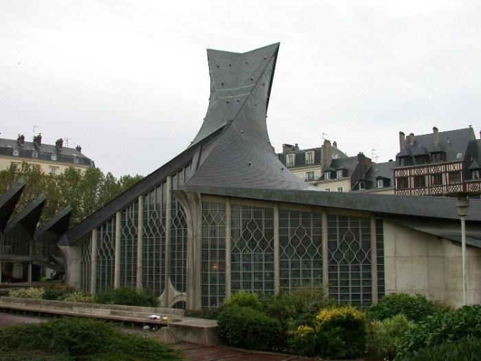 half8 - Half-Timbered Rouen: Jeanne d'Arc 's Garden