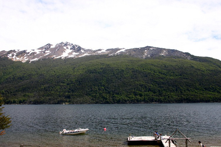 ush5 - On the Lakes in Ushuaia , Argentina