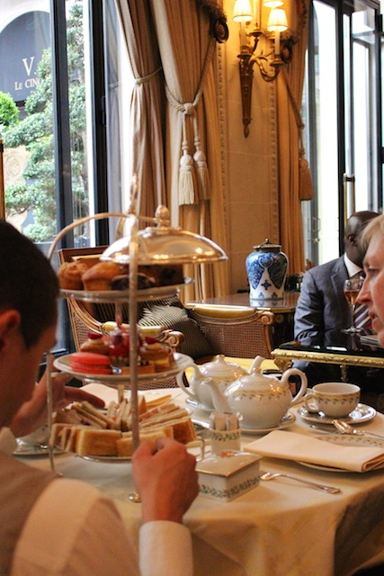 2015 04 16 at 09 29 05 - A Luxe Afternoon Tea at the George V in Paris