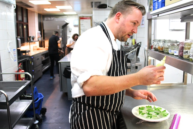 An Interview with Llangoed Hall's Chef Nick Brodie