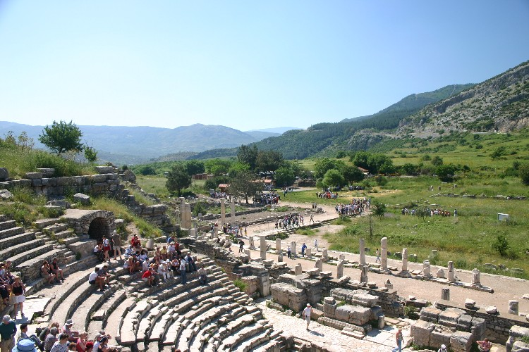 An Early Morning Visit to Ephesus