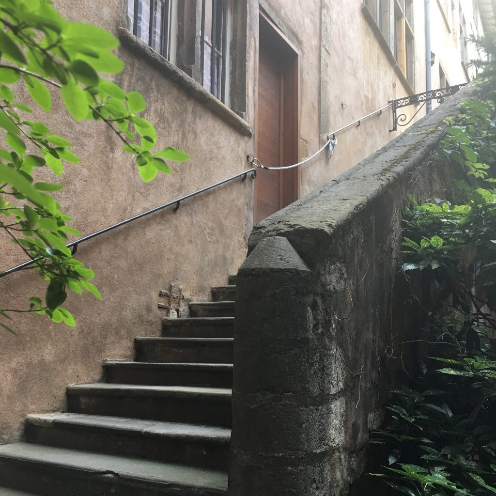 Secret Stairways of the Long Traboules