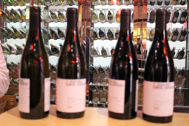 tasting at Fac&Spera by Michel CHAPOUTIER