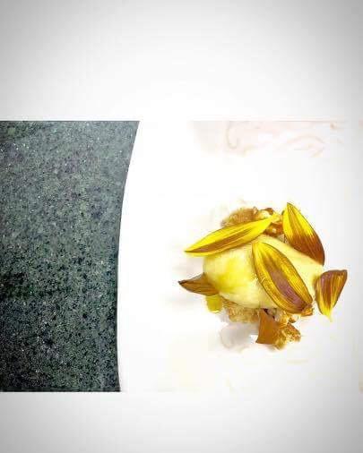 Frozen Corn, Sun Flower & Seeds, Oregano Corn Cookie. Image courtesy of Jason Bangerter
