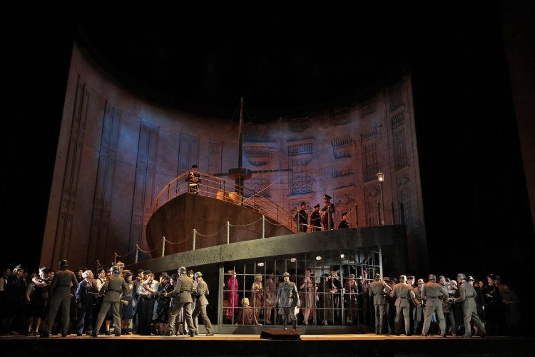 Metropolitan Opera Company of Manon Lescault  image courtesy of The Metropolitan Opera