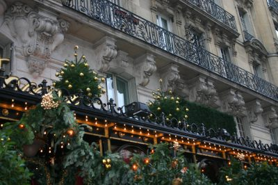 A Christmas Mystery in France