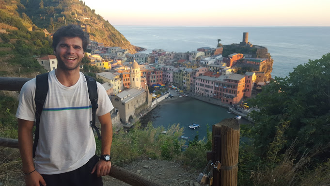 Postcard from Cinque Terre