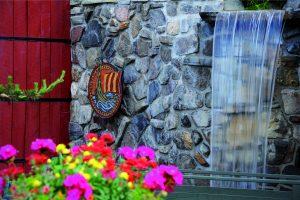 WATER FALL at Spa Scandinave