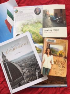These three books will inspire you to travel to Italy and embrace the culture, people, food and history.