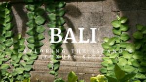 Luxurious Bali