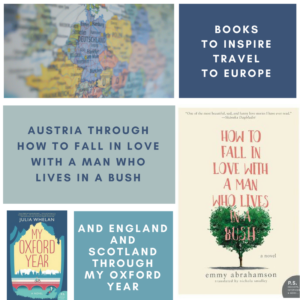 Be inspired to travel through Europe, and in particular, Austria, England and Scotland with these books from HarperCollins