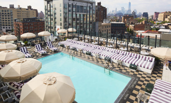 nyc2 550x332 - NYC's Best Rooftop Pool Bars