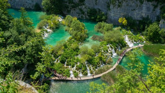 Image 5 Plitvice Lakes Croatia 1 550x309 - The 9 Best Travel Experiences Around the World