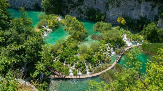 Image 5 Plitvice Lakes Croatia 1 550x309 - The 9 Best Travel Experiences Around the World