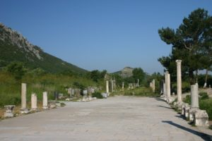 The Library at Ephesus Turkey