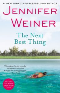Front cover of The Next Best thing of a woman swimming laps in water outside
