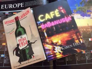 Picture of Vintage 1954 and Cafe Babanussa on top of a DK Book about Europe