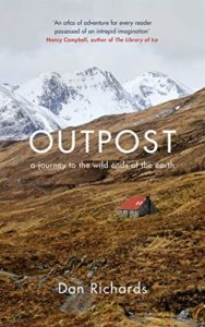 Front cover image of a little shack surrounded by mountains