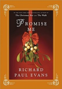 Front Cover image of Promise Me with mistletoe and a red bow